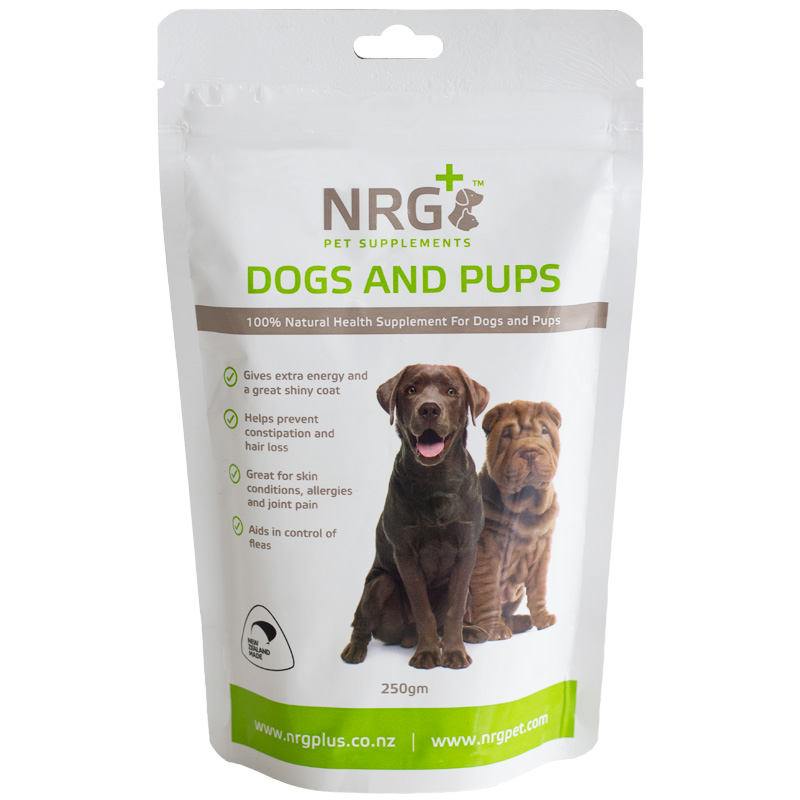 NRG Plus - dog food supplement