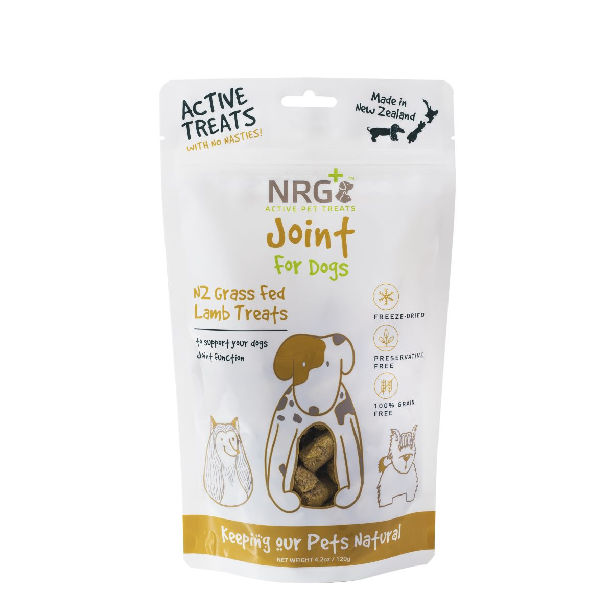nrg plus active pet treats: joint for dogs