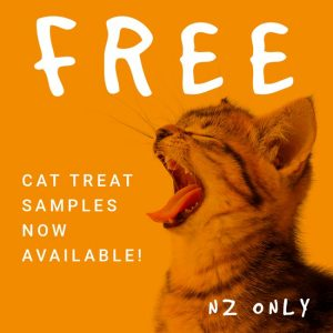 sample cat treats now available for a limited time