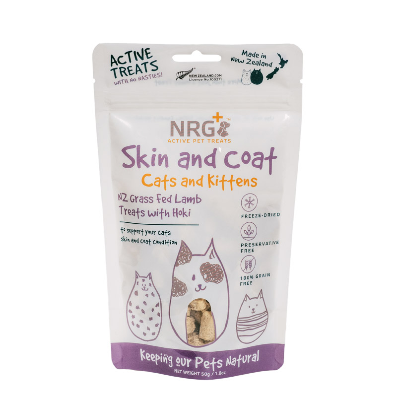 cat treats for skin and coat