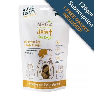 Joint treats subscription for dogs