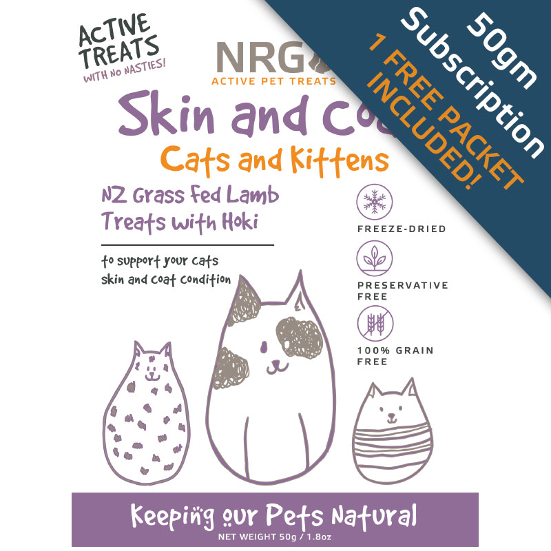 skin and coat treats subscription for cats