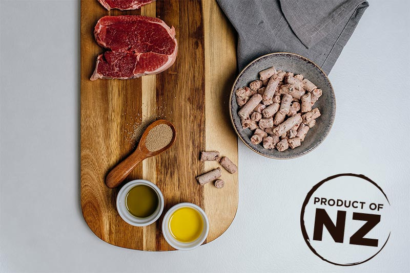 NRG+ RAW dog food - real meat and real organs!
