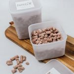 raw dog food containers