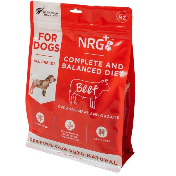 Beef freeze-dried dog food