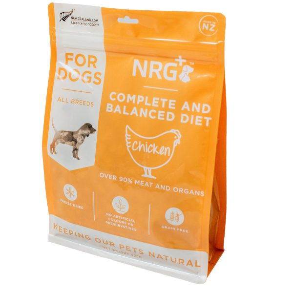 Chicken freeze-dried dog food