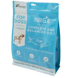 Fish freeze-dried dog food