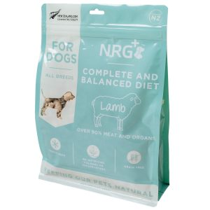 Lamb freeze-dried dog food