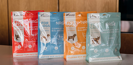 Freeze-dried pet food