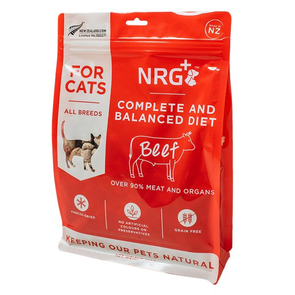 Beef Freeze-dried cat food